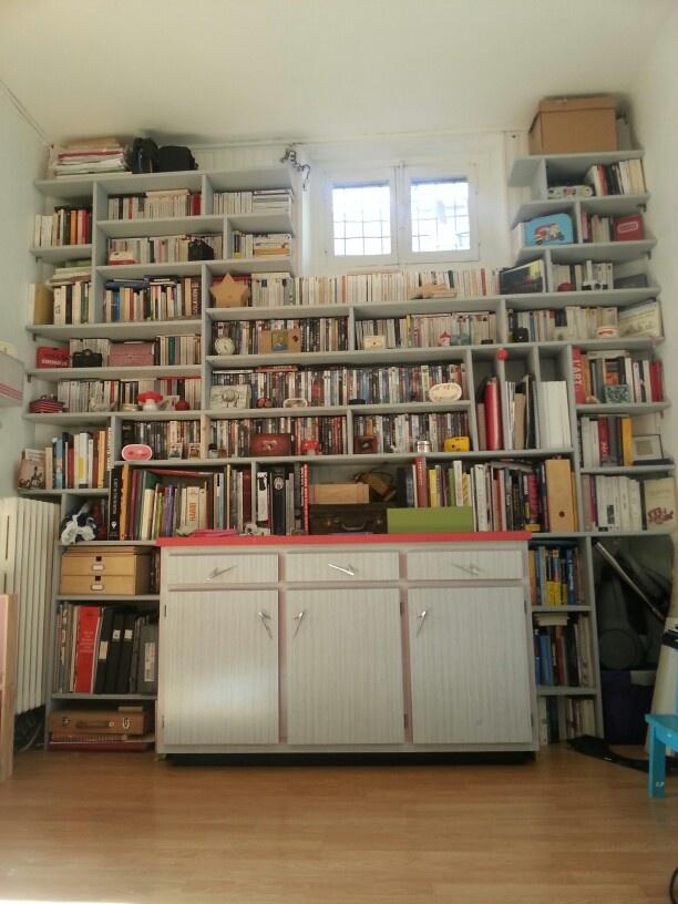 Foyer Closet Crossword : Library well organized diy bibliotheque organization