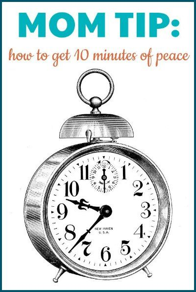 """Her """"secret"""" parenting trick to get 10 minutes of peace."""