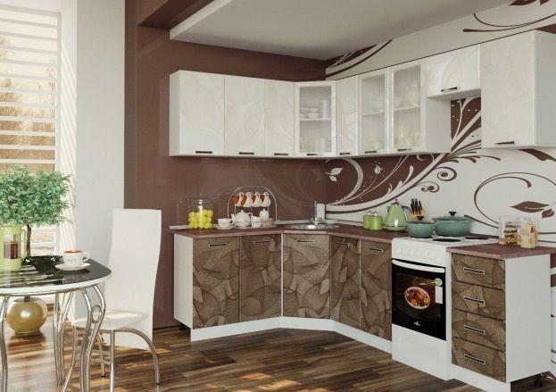 """Кухня любой хозяйки должна быть практичной стильной и удобной. Достоинством бюджетной кухни """"Микс Глобусы"""" является низкая стоимость, которая в сочетании с высоким качеством и привлекательным внешним видом делает эту кухню идеальным выбором."""