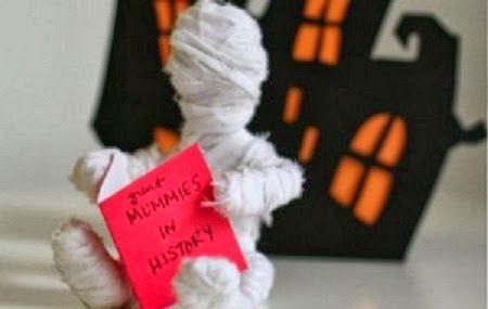 Momias de Alambre y Gasa, Manualidades Paso a Paso para Halloween