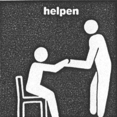 ik ben altijd bereid te helpen