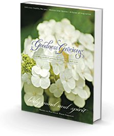 My Goodness Gracious book is finally here in hard cover and e-book versions! You asked and we listened!  Your daily source of goodness materialized to compliment your decor & travel with you wherever you go in a digital version. You are welcome :)