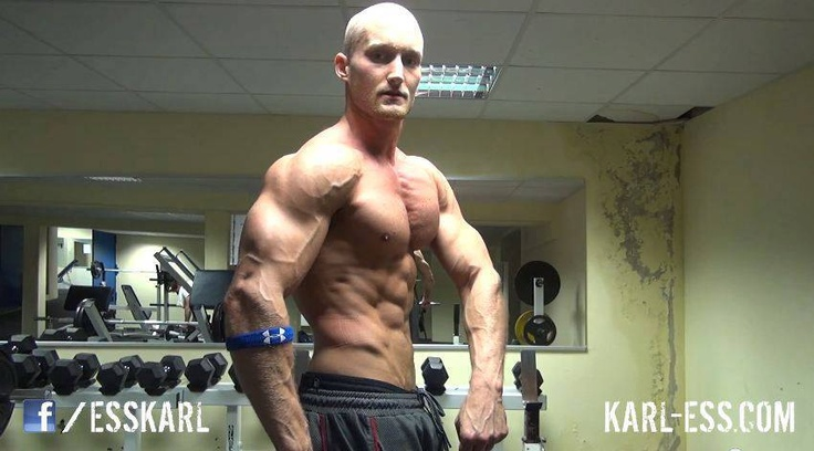 Natural Bodybuilder Karl Ess