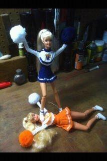 Old Fashion Barbie butt kickin!