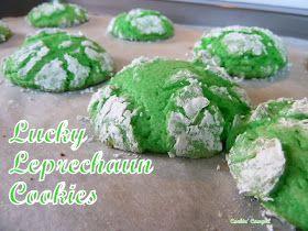 Cookin' Cowgirl: Lucky Leprechaun Cookies