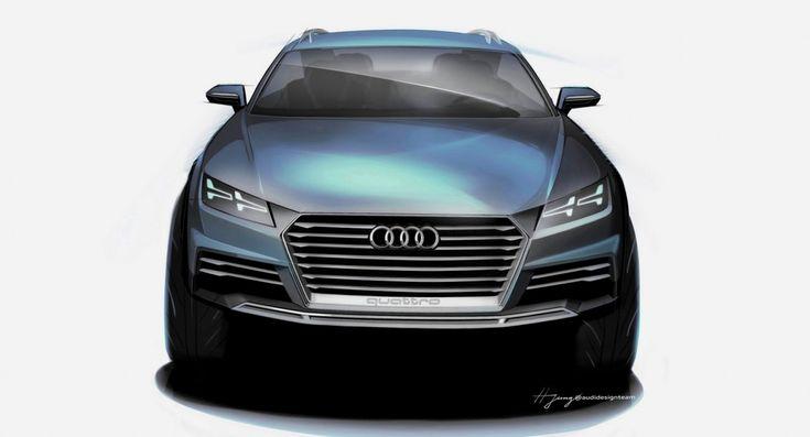 Audi Allroad Coupé e-tron Concept : Futur Q1 ? TT ? ou les deux ?