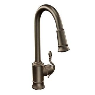 Moen Woodmere 1H Pd Kitchen 7615ORB - 19149310 - Overstock.com Shopping - Great Deals on Moen Kitchen Faucets