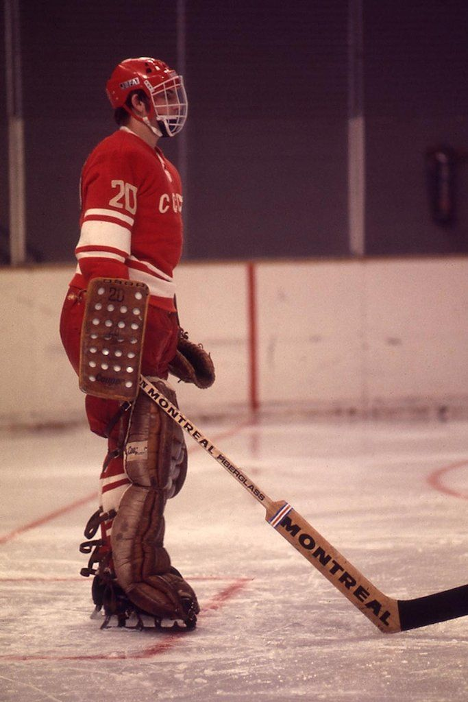 Pin by JasonC ツ on Vintage Hockey | Hockey goalie, Ice