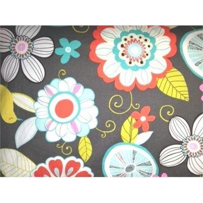 Oreiller - P'tit Nneka - Fleurs Colibri