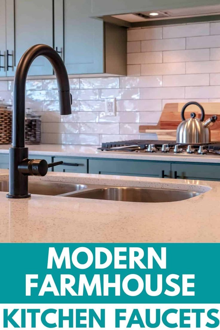 Farmhouse Style Kitchen Faucets in 2020 Kitchen faucet