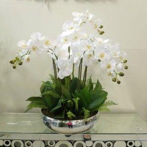 6-Arranjo de orquídeas