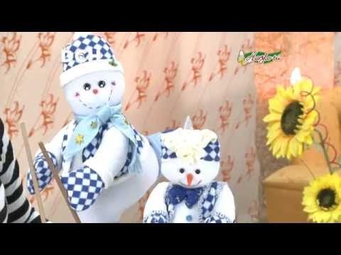 COMO HACER GORROS MUÑECOS TELA NAVIDEÑOS|ARTE JESICA - YouTube