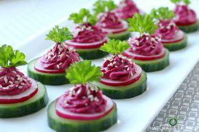 Szybkie i smaczne pikantne zakąski z ogórka i rzodkiewki na imprezę przekąski