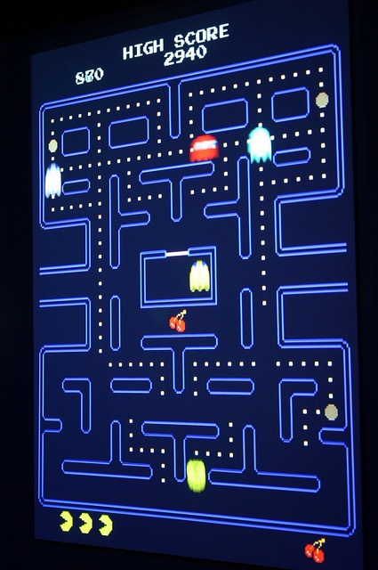 Toru Iwatani: Pac-Man by Ryan Somma, via Flickr