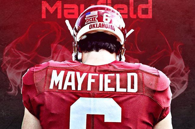 #BakerMayfield #6 #OU #Sooners #Football #BoomerSooner