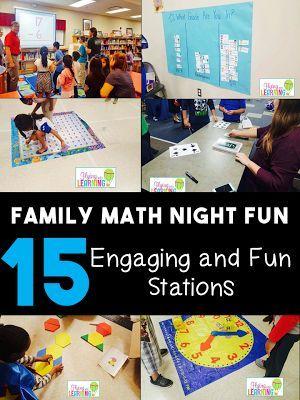 Family Math Night                                                                                                                                                                                 More