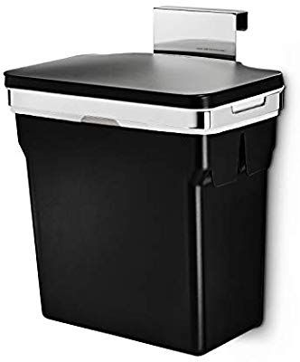 Best Amazon Com Simplehuman 10 Liter 2 6 Gallon In Cabinet 640 x 480