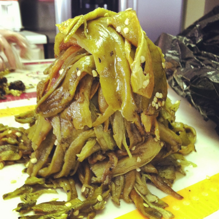 Hatch chili.  Anyone from NM will instantly know the significance of these green beauties.