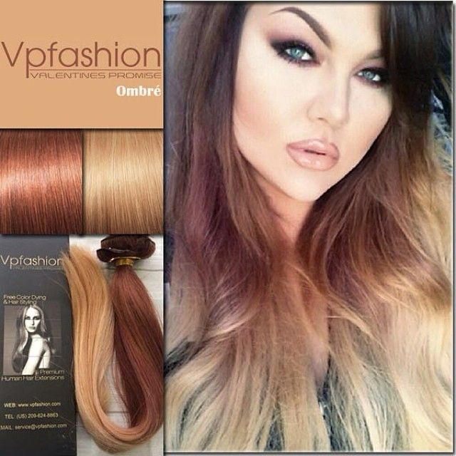 245 best vp hair images on pinterest blonde hair colors hair you may have no idea about how to choose ombr extension colors but we know pmusecretfo Image collections