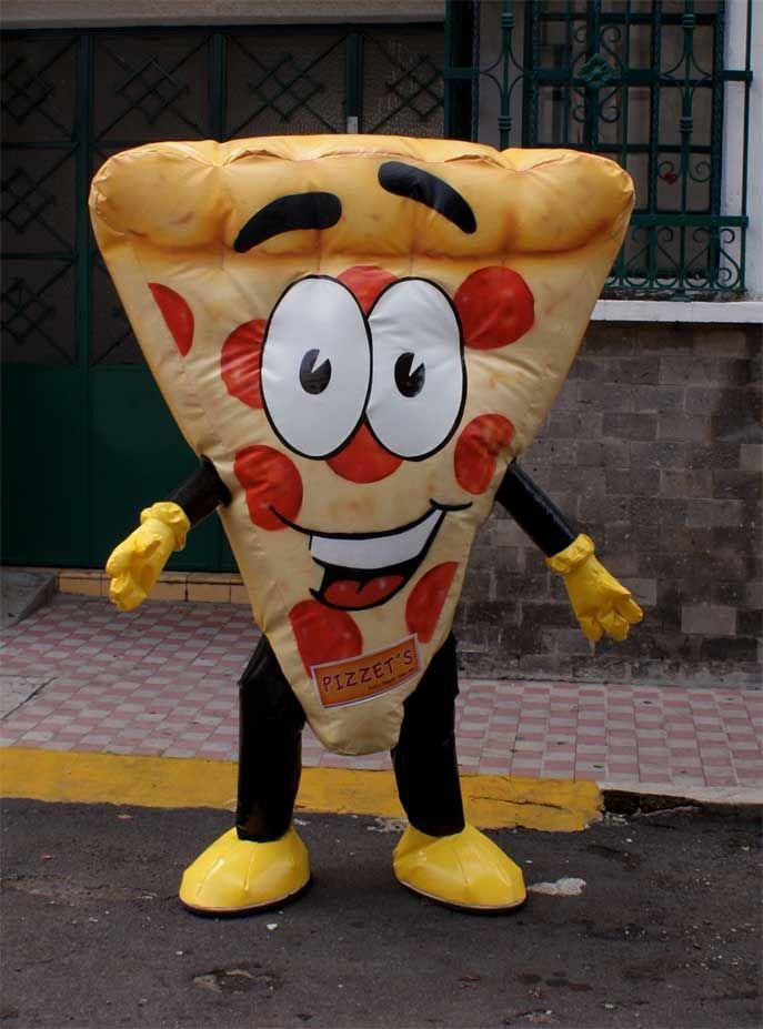 Botarga Inflable De Pizza Botargas Y Disfraces