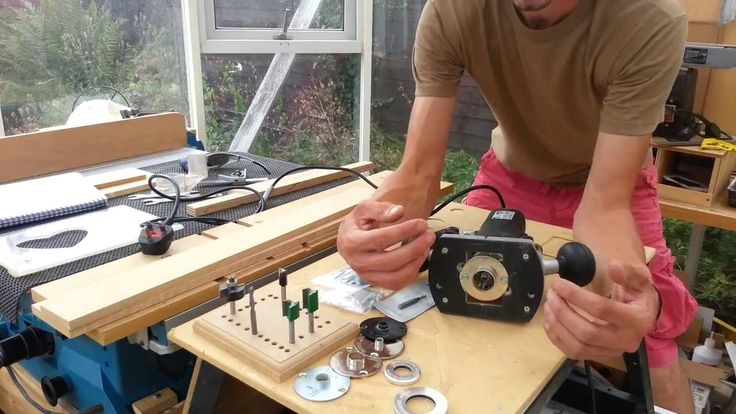 How to use guide bushes & collars to make jigs with a