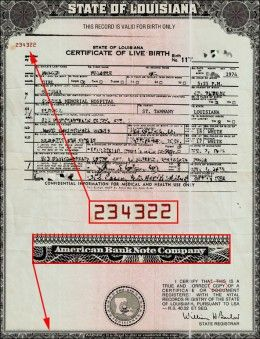 Birth Certificates, SSN Numbers and the Modern Slave Trade     Birth Certificate was created to offset U.S. Bankruptcy declared in 1933 to satisfy bankers and creditors of U.S. debt.  Legally, since your birth, your artificial person has been considered a slave or indentured servant to the various federal, provincial and municipal govts via your STATE-issued, STATE-created birth certificate in the name of your all-caps person.
