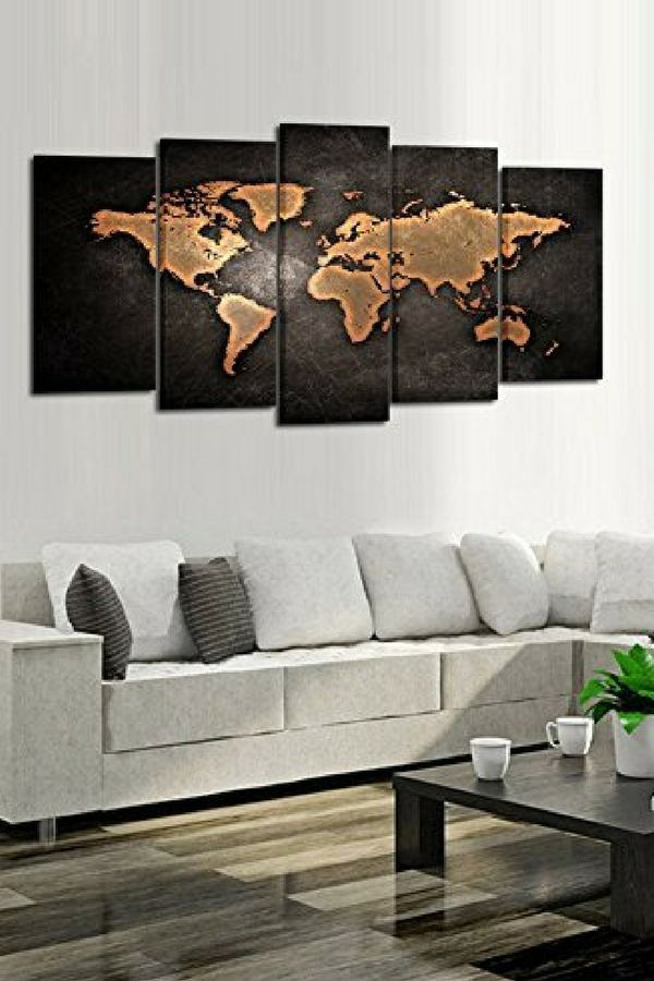 Educational and inspirational map wall art adds elegance and educational and inspirational map wall art adds elegance and ambiance for any room whether its old world maps or an eclectic wood world map ideal gumiabroncs Images