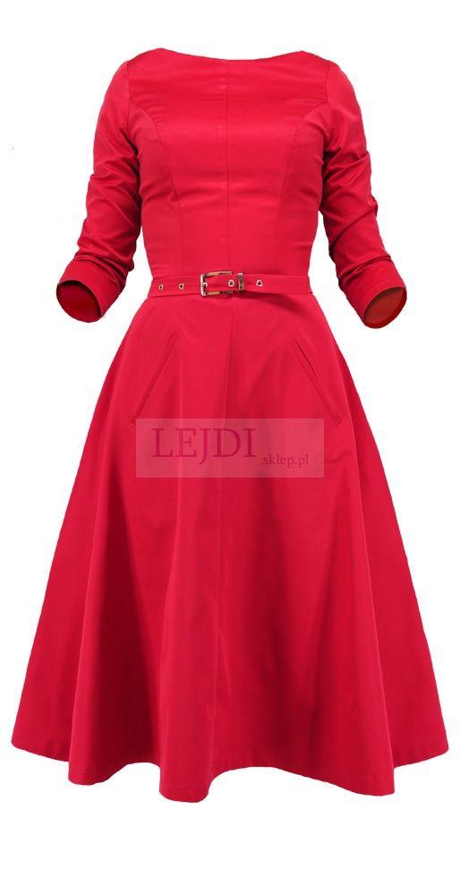 Sukienka w stylu vintage Grace kelly, mon 164