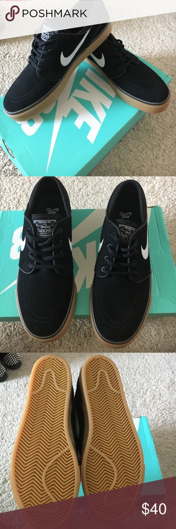 NWT JANOSKI SKATE SHOES 2 pairs available. women's 8.5 and women's 7.5. Gum soles for better grip, skate shoe. Brand new, does not come with box. Price is firm, these have never been worn the 7.5 was worn inside the house. Message me any questions you might have. ((These sizes are converted from boys' sizes. Nike Shoes Athletic Shoes