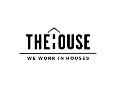 The House: We Work in Houses Logo