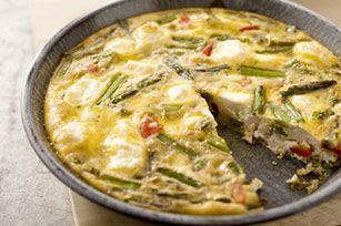 #kraftrecipes Frittata Primavera recipe