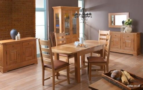 Furniture, Square Natural Wood Extension Dining Table Sets Design Ideas ~ Attractive Expanding Dining Tables for Room Efficiency