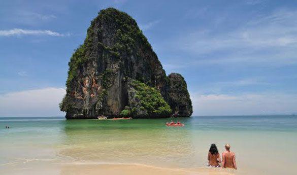 Playa de Krabi.