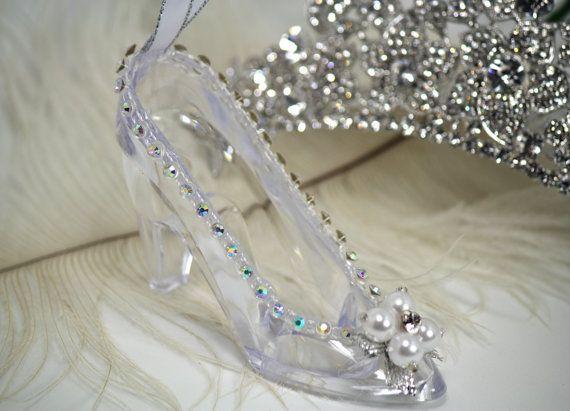 Glass Slipper Cinderella Wedding Favors Bridal Favors Bridal Shower Necklace Bridal