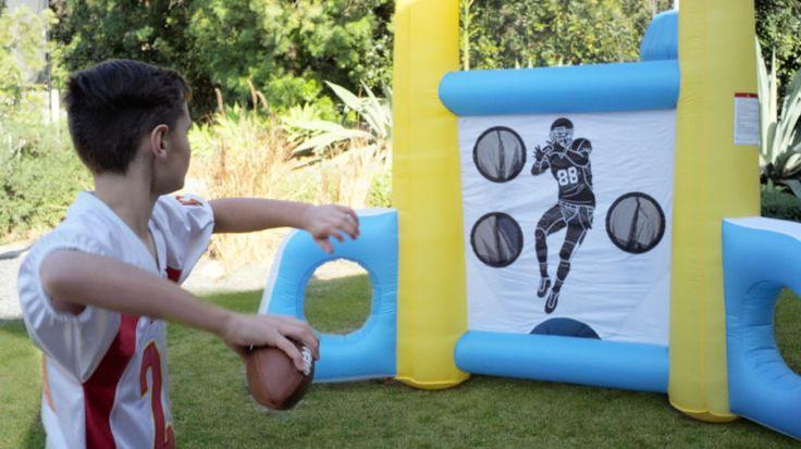 Multi Sports Trainer - Baseball Football Soccer Kicking Throwing Target Practice