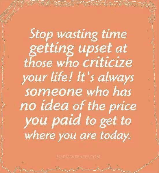 Stop Wasting Time...