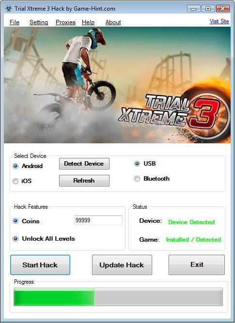 TRIAL XTREME 3 V4.4 Hacks