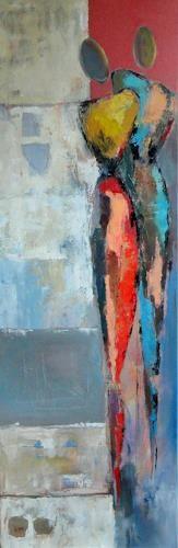 """Angela Fusenig, """"Aus der Serie"""" Mit einem Klick auf """"Als Kunstkarte versenden"""" versenden Sie kostenlos dieses Werk Ihren Freunden und Bekannten."""