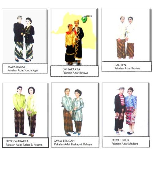 """alat peraga TK dengan tema """"NEGARAKU"""" memperkenalkan pakaian adat negara indonesia yaitu pakaian adat JAWA"""