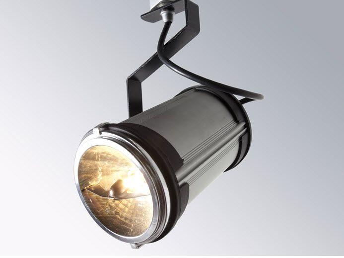 Luminaria ECO 05 Luminaria dirigible dos ejes para sobreponer o instalar en riel, cuerpo en extrusión de aluminio anodizado natural, tecnología descarga cerámica, halógena oled, para fijación en superficie o en riel eléctrico.  • Para uso en iluminación de locales comerciales.
