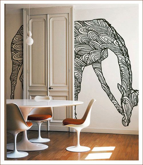 It would be interesting to create something like this on my wall.