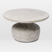 Sculpted Drum Coffee Table | west elm