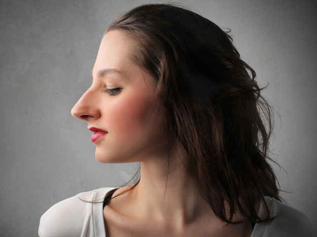 Or being cautious with certain hairstyles! | 22 Things Only People With A Big Nose Will Understand