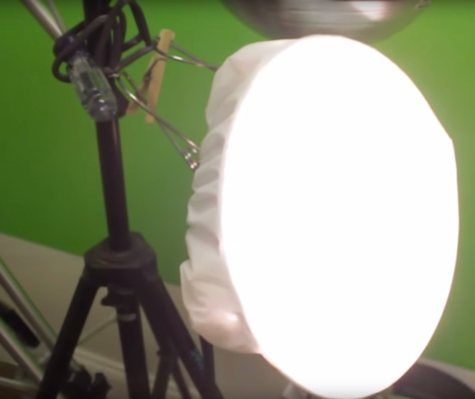HOMEMADE SOFTBOX LIGHT MADE FROM SHOWER CAP- This article by Phil Shapiro tells about how he created a softbox with a shower cap. While he used this form of lighting for a video, the same concept can be used for photography as well. He also discuses challenges he had during his shoot and how this DIY softbox helped.