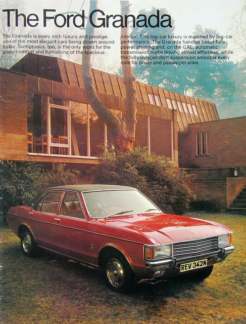 An Image Of A Ford Granada From My Ford Cars All Model Catalogue 1975 - 6 Of 42 by Kelvin64, via Flickr