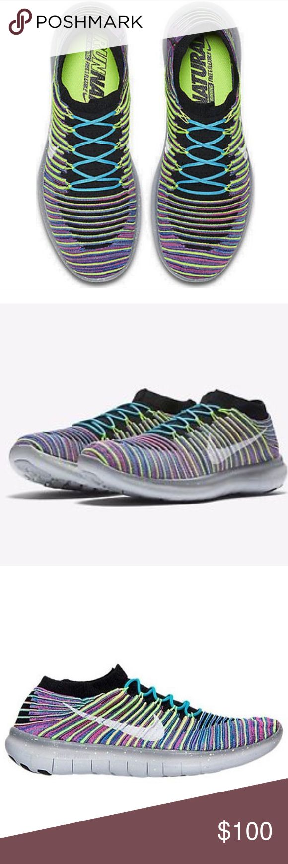 BRAND NEW Mens FreeRn Motion Flyknit Running Shoes Lightweight and breathable running shoes Nike Shoes Athletic Shoes
