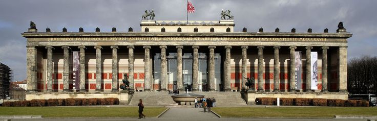 Altes Museum, Museumsinsel, Mitte, Berlin, Deutschland