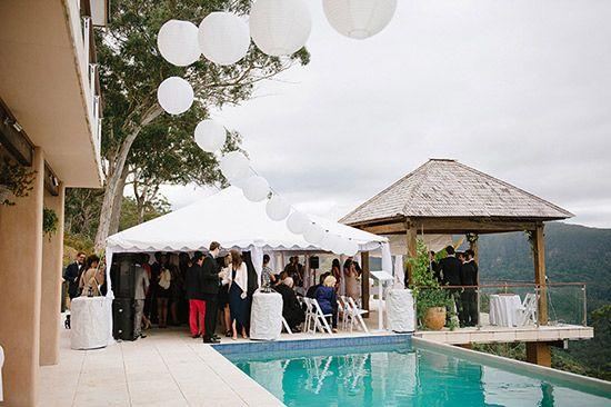 Lauren and Cameron's Chic Byron Bay Wedding #celebrant #michelleshannon