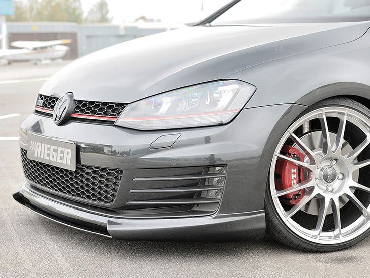 Rieger Front Lip Spoiler For VW GTI MK7 (Pre Facelift)