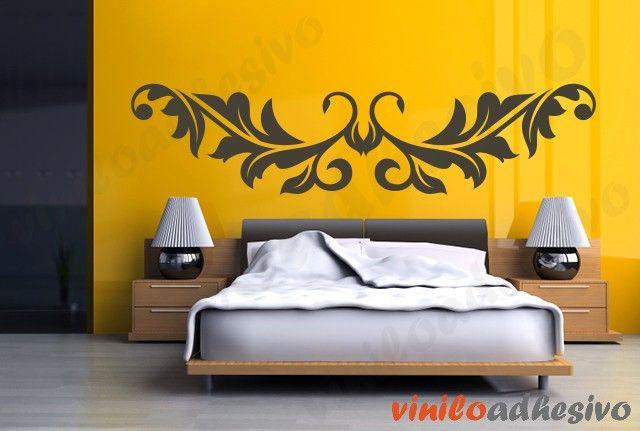 Vinilo decorativo - Cabecero tribal
